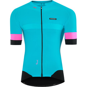 Etxeondo Mendi Maillot manches courtes Homme, blue-pink
